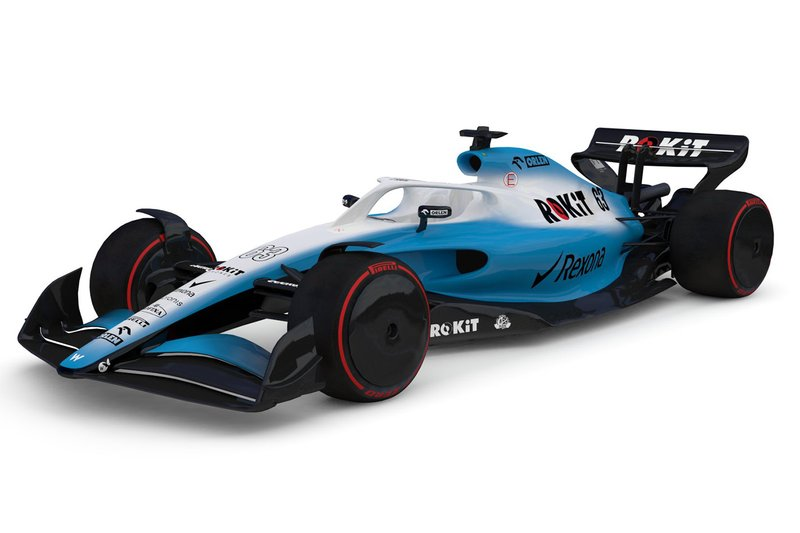 2021 F1 car of Williams