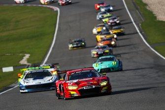 #9 Phoenix Racing Audi R8 LMS: Michele Beretta, Steve Jans, Kim Luis Schramm