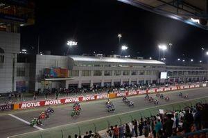 Partenza della gara