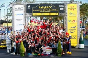 Champion Ott Tänak, Martin Järveoja, Toyota Gazoo Racing WRT Toyota Yaris WRC with the team