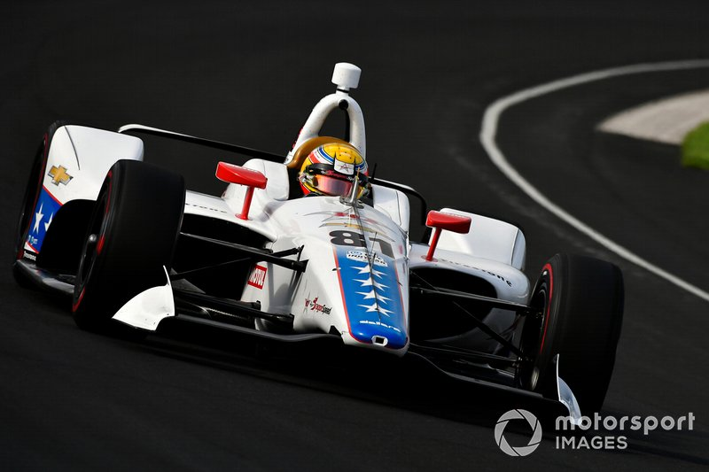 27º: #81 Ben Hanley, 10 Star DragonSpeed, DragonSpeed Chevrolet: 227.482 mph