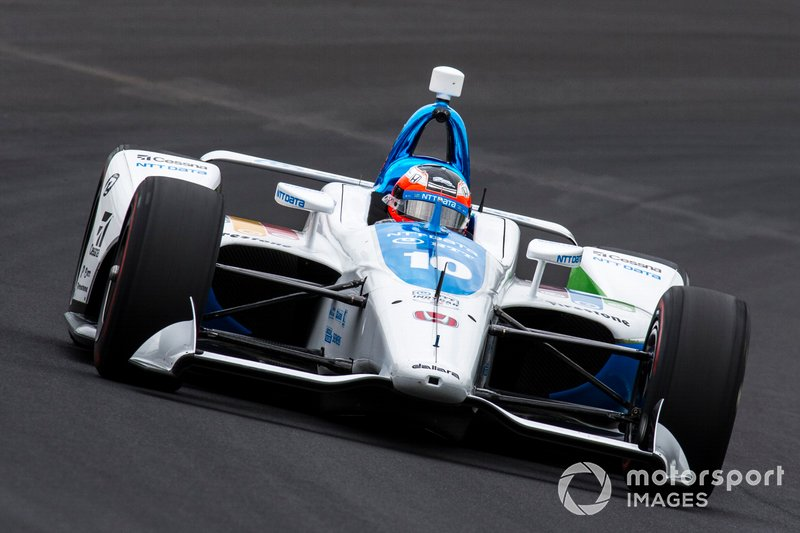 29º #10 Felix Rosenqvist, NTT DATA Chip Ganassi Racing, Chip Ganassi Racing Honda: 227.297 mph
