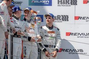 Podium: third place #3 Mercedes AMG Team Black Falcon Mercedes AMG GT3: Maximilian Buhk, Hubert Haupt, Thomas Jäger, Luca Stolz