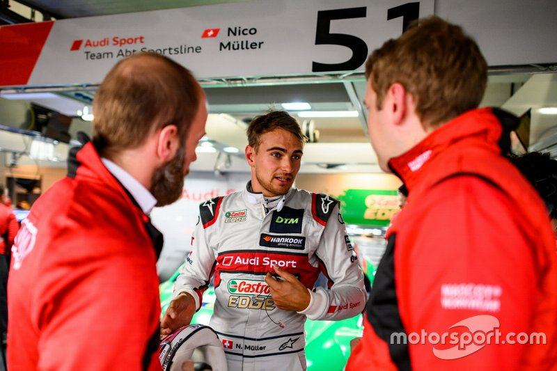 Ніко Мюллер, Audi Sport Team Abt Sportsline