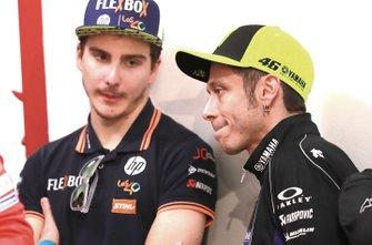 Lorenzo Baldassarri, Pons HP40, Valentino Rossi, Yamaha Factory Racing