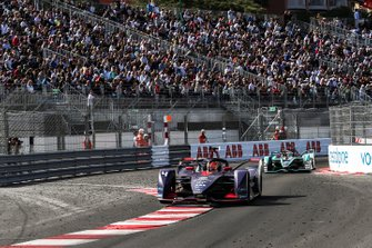 Robin Frijns, Envision Virgin Racing, Audi e-tron FE05 Mitch Evans, Panasonic Jaguar Racing, Jaguar I-Type 3