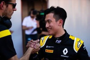 Third place Guanyu Zhou, Uni Virtuosi Racing