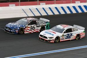 Matt Tifft, Front Row Motorsports, Ford Mustang Surface Sunscreen / Tunity,Corey LaJoie, Go FAS Racing, Ford Mustang Superior Logistics