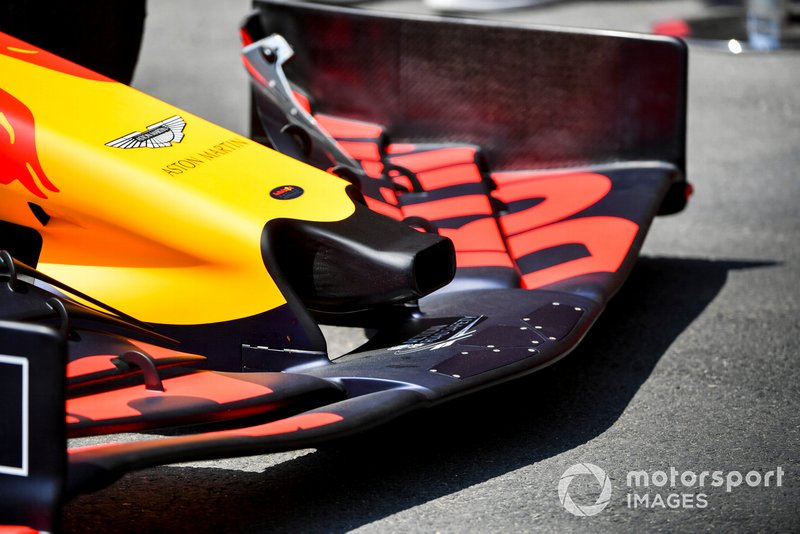 Red Bull RB15: Frontpartie