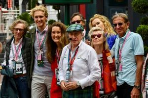 Sir Jackie Stewart, 3-time F1 Champion, with guests