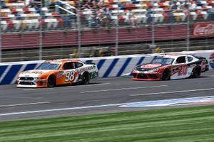 Chase Briscoe, Stewart-Haas Racing, Ford Mustang Nutri Chomps/Pet Supermarket and Christopher Bell, Joe Gibbs Racing, Toyota Supra Rheem