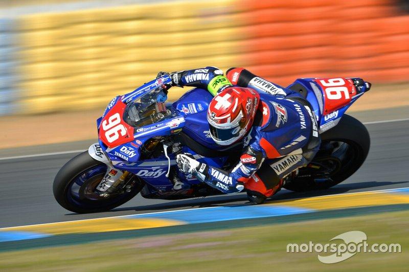 #96 Yamaha: Roberto Rolfo, Robin Mulhauser, Stefan Hill