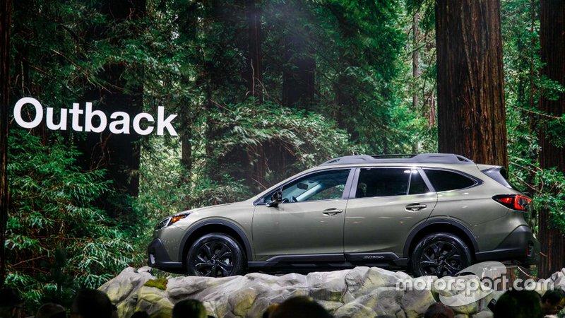 Subaru Outback 2020 року на Автошоу в Нью-Йорку