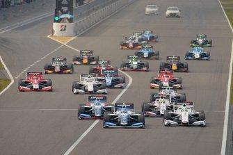 Salida de la Súper Fórmula en Suzuka