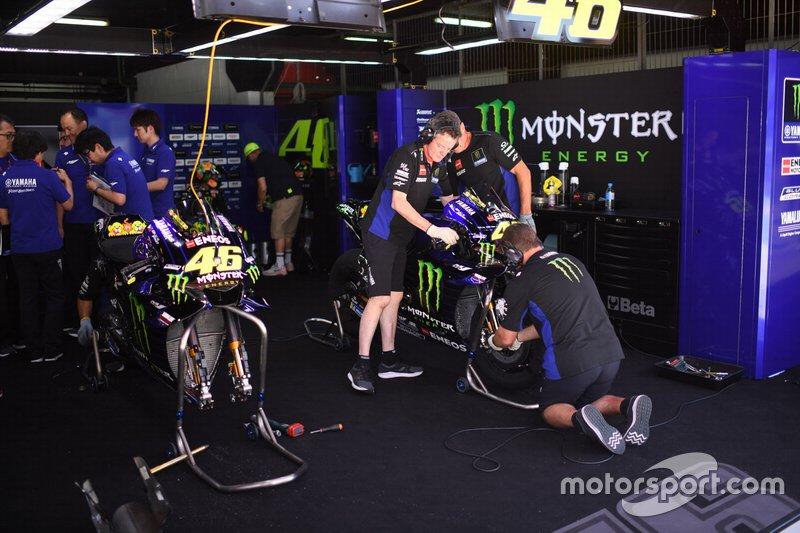 Bikes of Valentino Rossi, Yamaha Factory Racing
