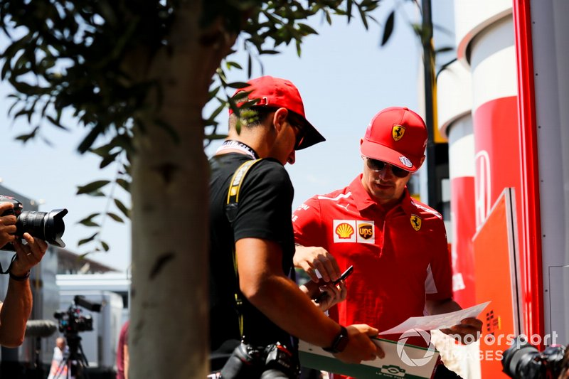 Charles Leclerc, Ferrari ¡
