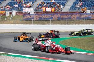 Robert Shwartzman, PREMA Racing and Alexander Peroni, Campos Racing