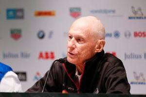 Michael Carcamo, Nissan e.Dams, alla conferenza stampa