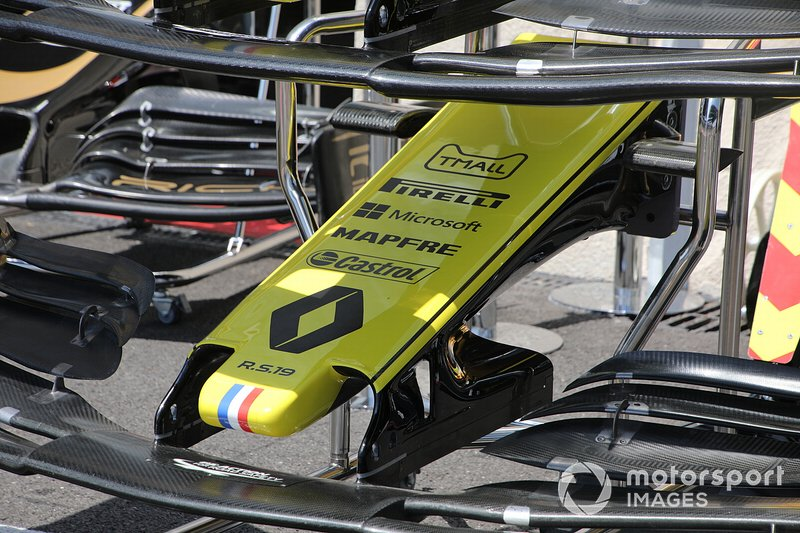 Renault R.S. 19 front wing detail