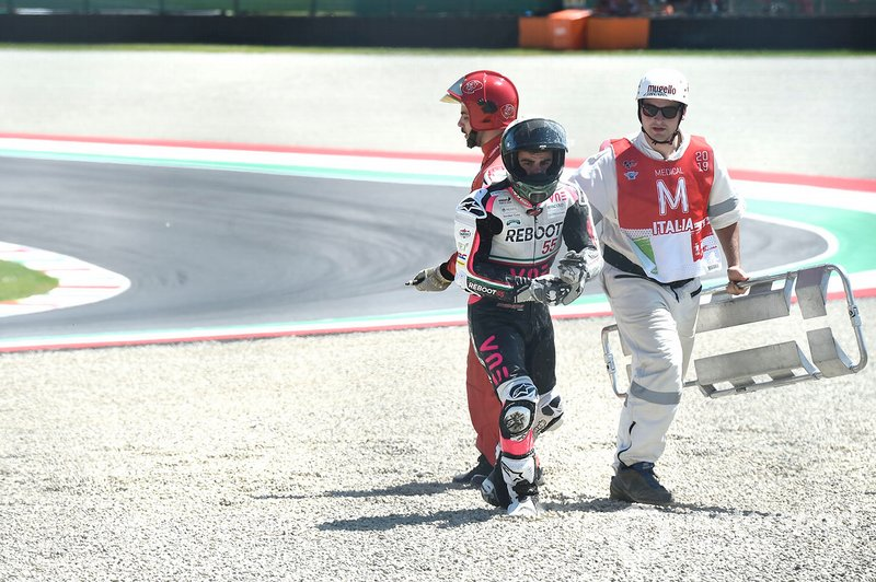 Caída de Romano Fenati, Team O, Andrea Migno, Bester Capital Dubai