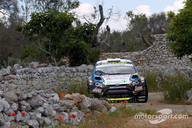 Marco Signor, Patrick Bernardi, Ford Fiesta WRC, Casarano Rally Team