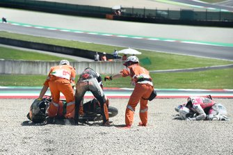 Romano Fenati, Team O, Andrea Migno, Bester Capital Dubai crash