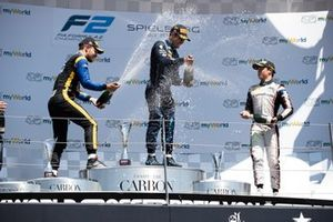 Sergio Sette Camara, Dams Luca Ghiotto, UNI Virtuosi Racing and Nyck De Vries, ART Grand Prix
