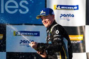 Podium: third place James Moffat, Garry Rogers Motorsport