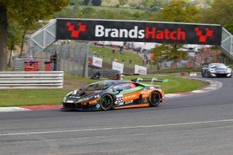 #555 Orange 1 FFF Racing Team Lamborghini Huracan GT3 2019: Diego Menchaca, Taylor Proto