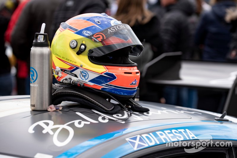 Helmet of Paul Di Resta, R-Motorsport