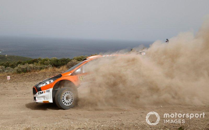 Takamoto Katsuta, Daniel Barritt, Tommi Makinen Racing, Ford Fiesta R5