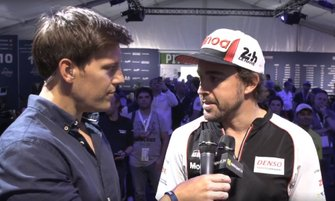 Interview with Fernando Alonso