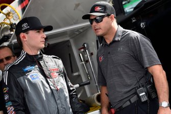 Anthony Alfredo, DGR-Crosley, Toyota Tundra Ceco Building Systems and David Gilliland