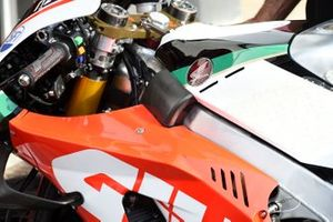 Team LCR Honda bike detail