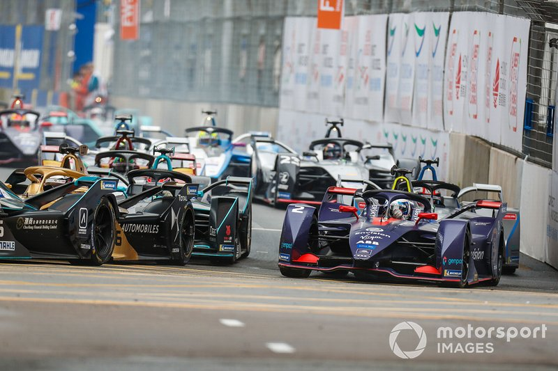 Sam Bird, Envision Virgin Racing, Audi e-tron FE05 reta a Andre Lotterer, DS TECHEETAH, DS E-Tense FE19
