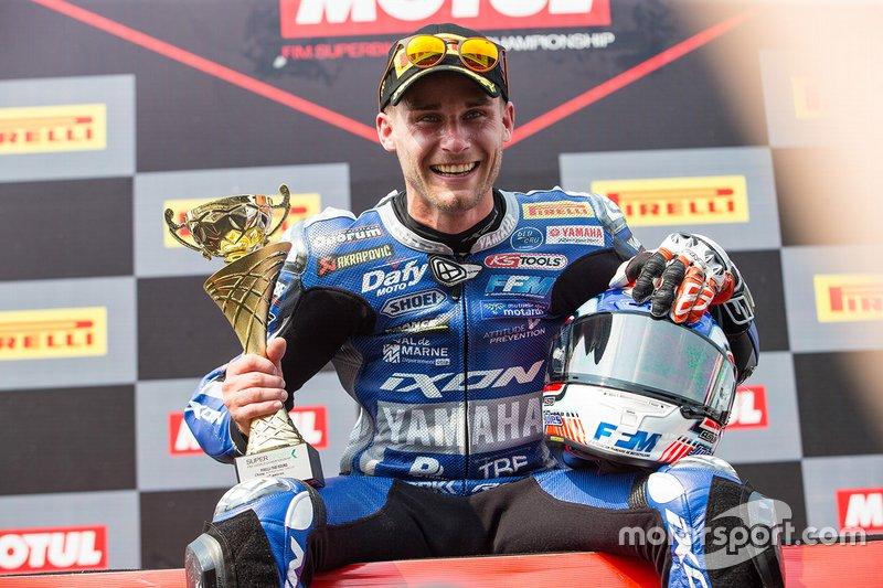 Yarış galibi Jules Cluzel, GMT94 Yamaha