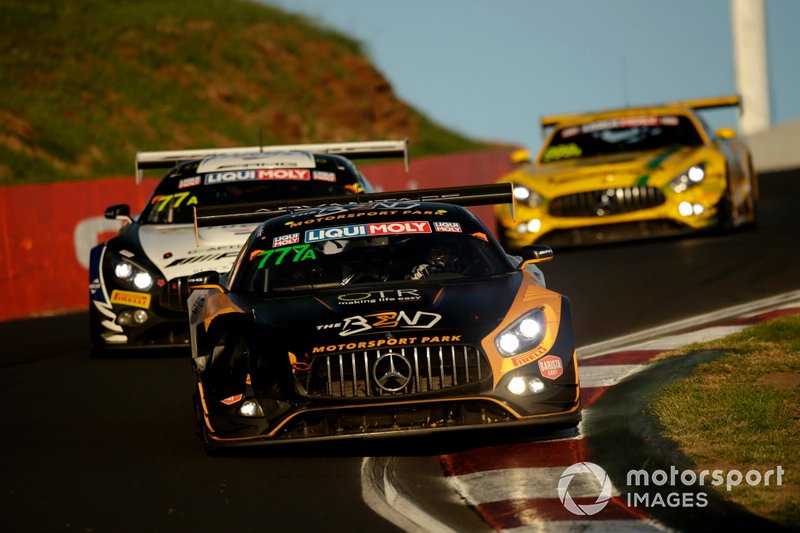 DNF: #777 The Bend Motorsport Park Mercedes AMG GT GT3: Yasser Shahin, David Reynolds, Luke Youlden