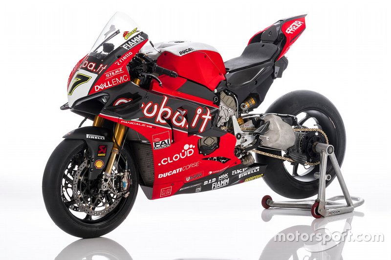 Bike von Chaz Davies, Aruba.it Racing-Ducati SBK Team