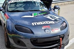 #47 MP4A Mazda MX5 driven by Robert Tanon of FAAS Racing