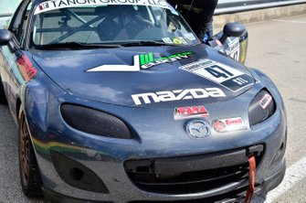 #47 MP4A Mazda MX5 driven by Robert Tanon of FAAS Racing