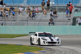 #60 MP2A Ginetta G55 GT4 driven by Adolpho Rossi and Essio Vichiesi of Ginetta USA