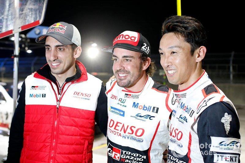 WEC, pilotos (categoria LMP1): Sebastien Buemi, Fernando Alonso e Kazuki Nakajima