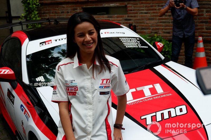 Sabrina Sameh, Toyota Team Indonesia
