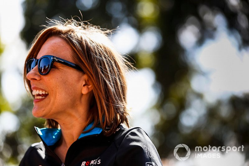 Claire Williams, Vice Team Principal, Williams Racing