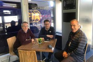 Franco Nugnes, Nicholas Tombazis e Giorgio Piola
