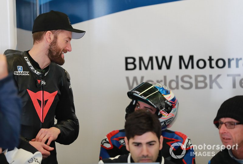 BMW Motorrad WorldSBK Team: Tom Sykes, Markus Reiterberger