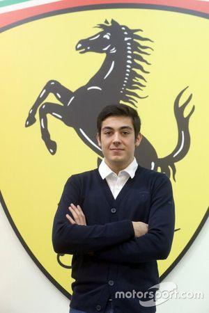 Giuliano Alesi, Academia de pilotos de Ferrari