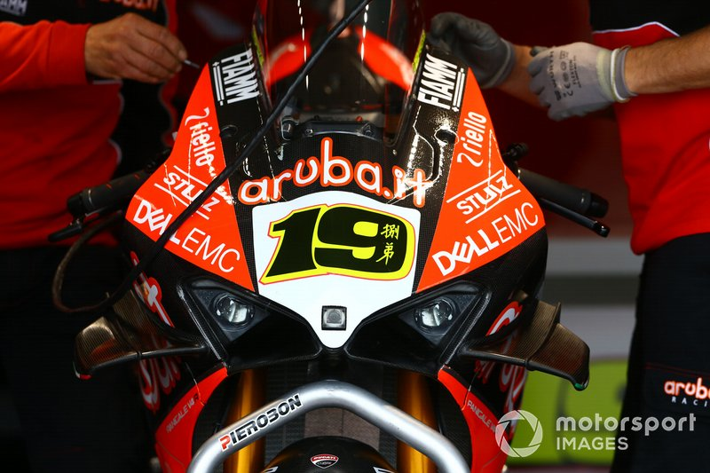 Alvaro Bautista, Aruba.it Racing-Ducati Team bike
