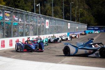 Edoardo Mortara Venturi Formula E, Venturi VFE05 Robin Frijns, Envision Virgin Racing, Audi e-tron FE05, Mitch Evans, Jaguar Racing, Jaguar I-Type 3