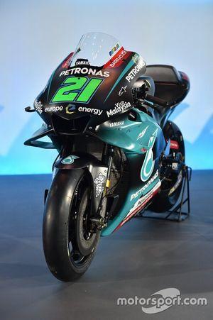 La moto de Franco Morbidelli, PETRONAS Yamaha Sepang Racing Team
